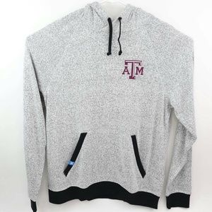 Texas A&M Aggies Adidas Mens Sweatshirt Gray White